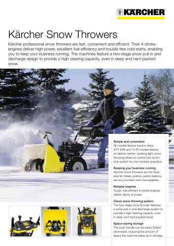 STH 5.56 W Snow thrower