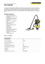 WD 5.200 MP Wet and dry vacuum cleaner
