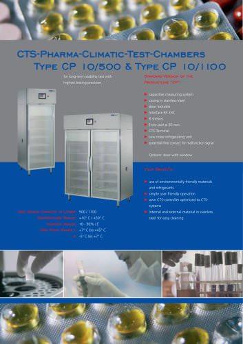 Pharma Climatic Test Chambers