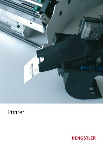 Complete thermoprinter catalog