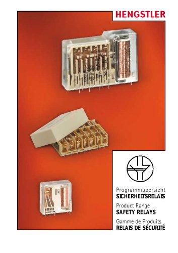 relay product range