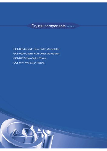 Daheng New Epoch Technology,Inc.-Crystal Components