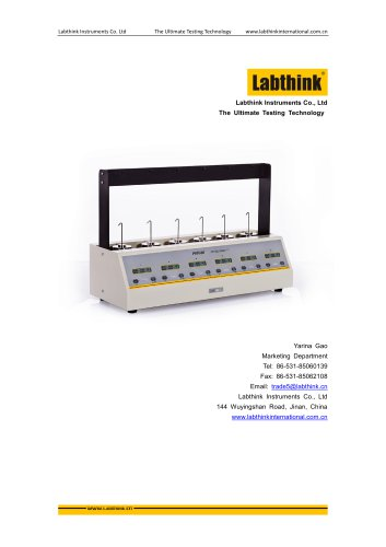 ASTM D3654 Shear Adhesion Tester for Pressure-sensitive tapes from Labthink