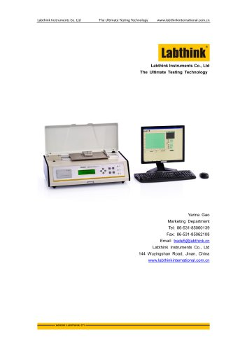 COF measurement Device of surface of plastic coated Materials