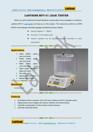 Labthink Cosmetic Soft Tube Leak Tester