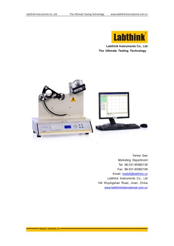 Labthink FIT-01 Pendulum Impact Test Equipment