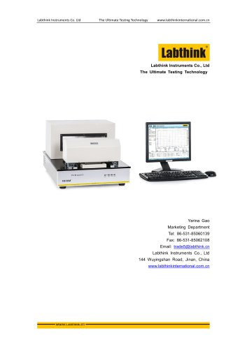 Labthink Gelbo Flex Durability Tester for Plastic Packaging Materials before barrier testing