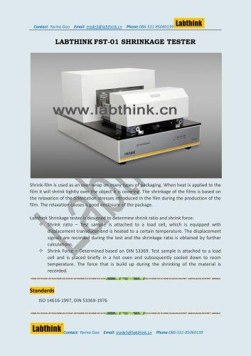 Labthink Heat Shrink Film Force at Break Testing Equipment