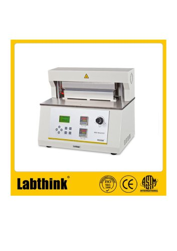 Labthink HST-H3 Heat Seal Tester equipment for checking heat sealability.