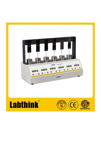 Labthink Long Time Shear Tester to measure Retention Adhesion of Adhesives