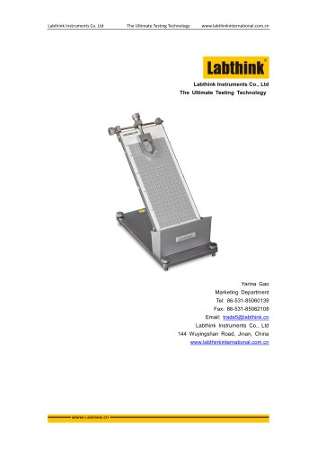 Labthink Tackiness Tester of pressure sensitive adhesives