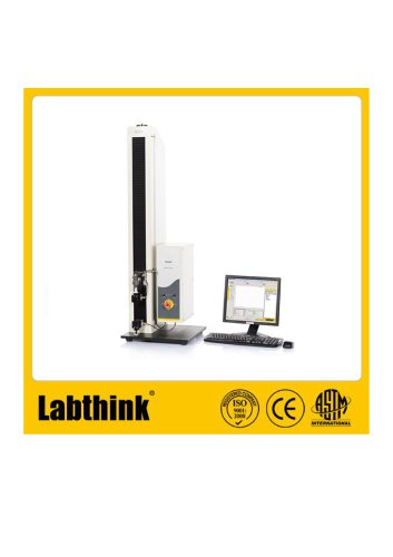 Labthink XLW(EC) Tensile Tester is used to test the wet wipe sachet sealing strength