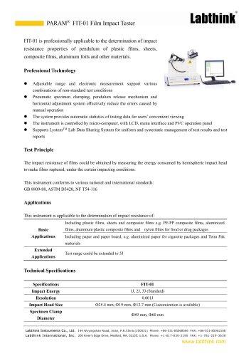 Waterproofing Materials Puncture Resistance Tester