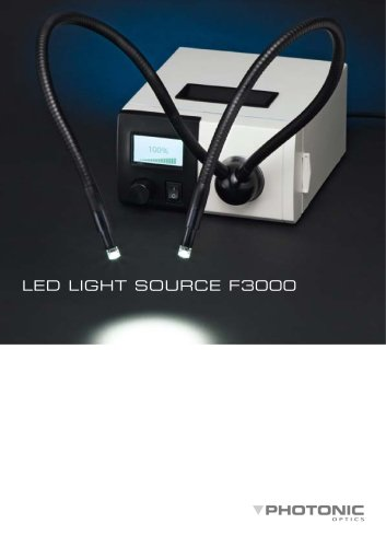 LED Light Source F3000