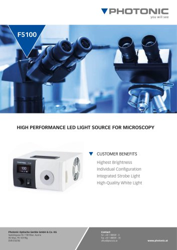 LED Light Source F5100