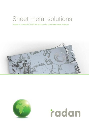 RADAN Sheet Metal Solutions
