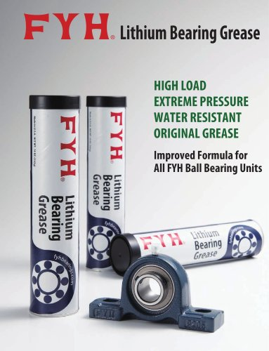 FYH Lithium Bearing Grease Flyer