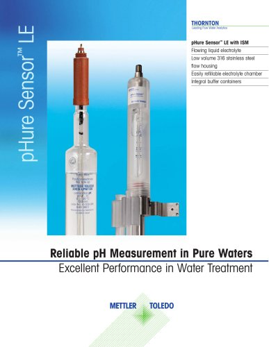 Reliable pH Measurement in Pure Waters