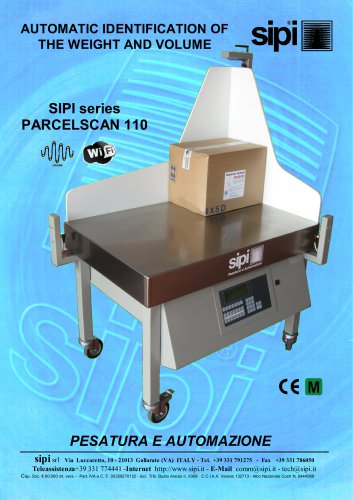 SIPI series  PARCELSCAN 110