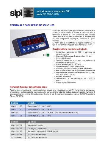 TERMINALE SIPI SERIE SE 308 C H20
