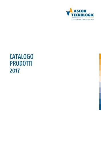 CATALOGO PRODOTTI 2017