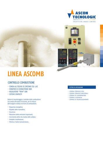 Controllo combustione - Serie ASCOMB