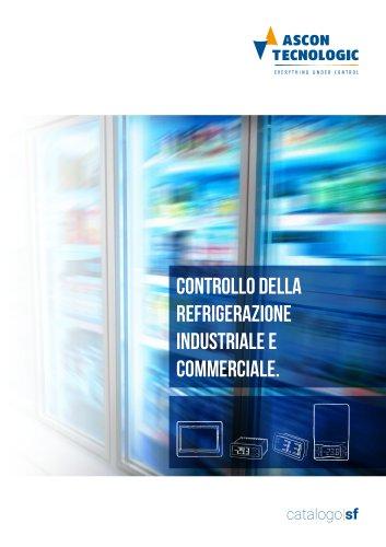 controllo della refRigerazione industriale e commerciale.