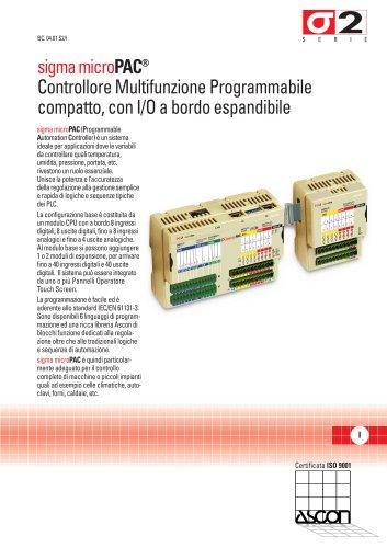 Controllore Multifunzione Programmabile Compatto - Serie Sigma microPAC