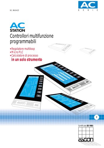 Controllori Multifunzione Programmabili Serie AC