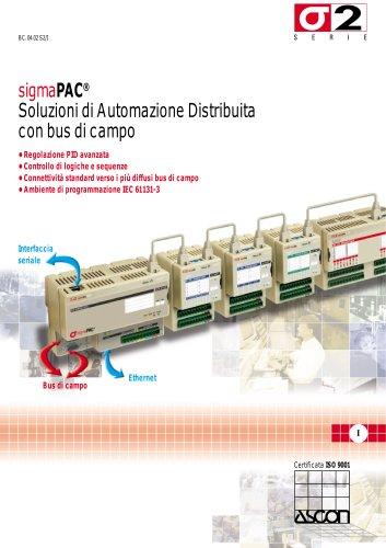 PAC Controllori Programmabili di Automazione - Serie SigmaPAC