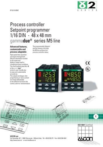 Process controller Setpoint programmer 1/16 DIN - 48 x 48 mm