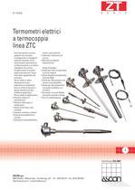 Sensori di Temperatura a Termocoppia - Serie ZT