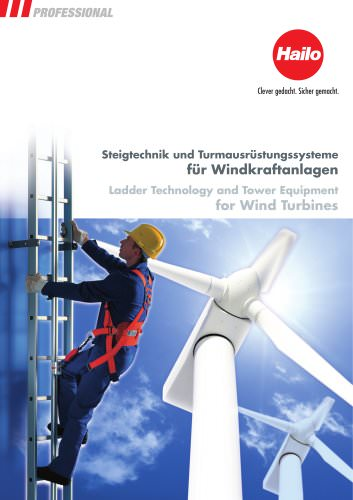 Catalogue Ladder Technology for Wind Turbines