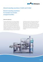 Stretch-banding machines E 3025 and 3040