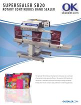 SUPERSEALER SB20 ROTARY CONTINUOUS BAND SEALER