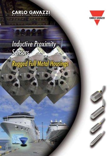 Inductive Proximity Sensors Rugged Full Metal Housings