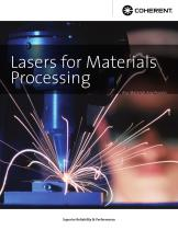 Lasers for Materials Processing