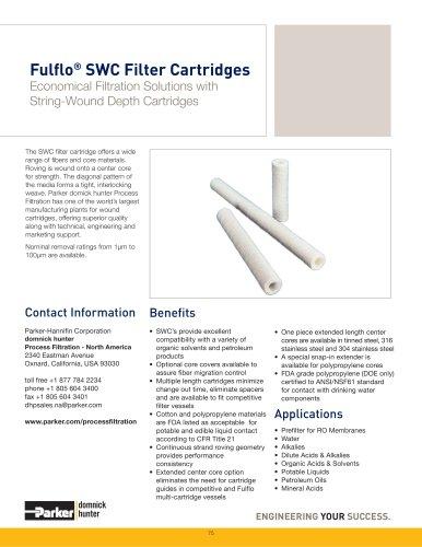 Fulflo SWC Filter Cartridges