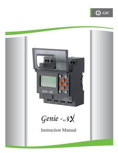 MANUAL FOR MINI PLC GENIE-NX