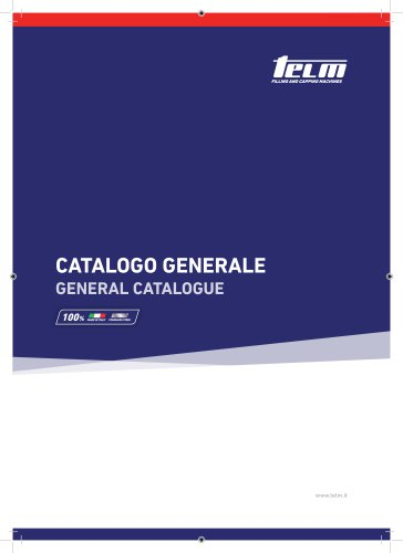Catalogo Generale Telm 2019