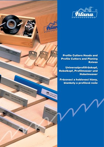 Profile Cutters Heads and Profile Cutters and Planing Knives