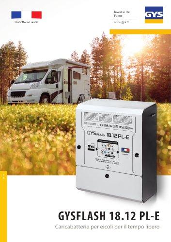 GYSFLASH 18.12 PL-E Caricabatterie per eicoli per il tempo libero