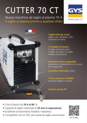 Taglio PLASMA CUTTER 70 CT TRI - con accessori