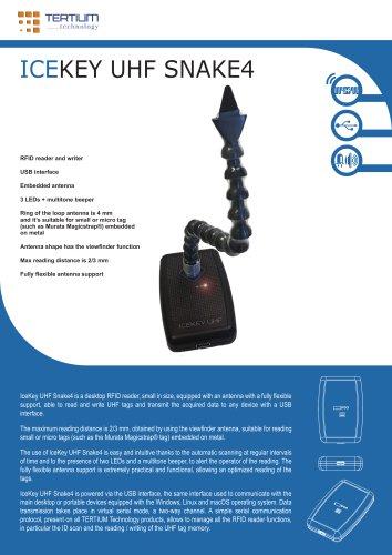 ICEKEY UHF SNAKE4