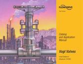 Catalog and Application Manual Valves