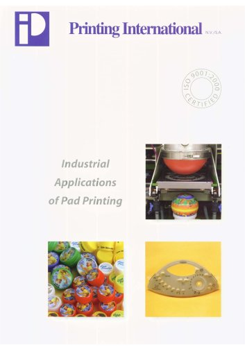 Industrial Applications of Pad Printing