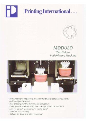 MODULO - two colour pad printing Machine