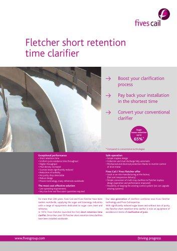 Fletcher short retention time clarifier