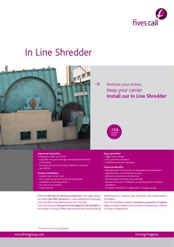 In Line Shredder