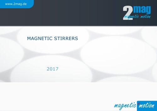 2mag Magnetic Stirrers 2017